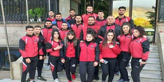 منتخب سورية برفع الأثقال يشارك في بطولة العرب في الأردن