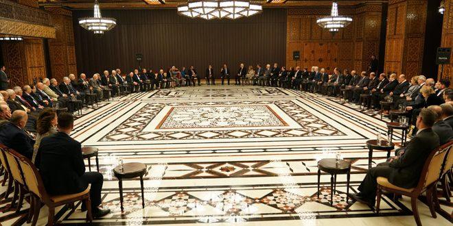 الرئيس الأسد: الاستثمار في المشاريع الثقافية هو الاستثمار الأكثر ربحاً لأنه يبني الإنسان المنتمي والمتسلح بالمعرفة