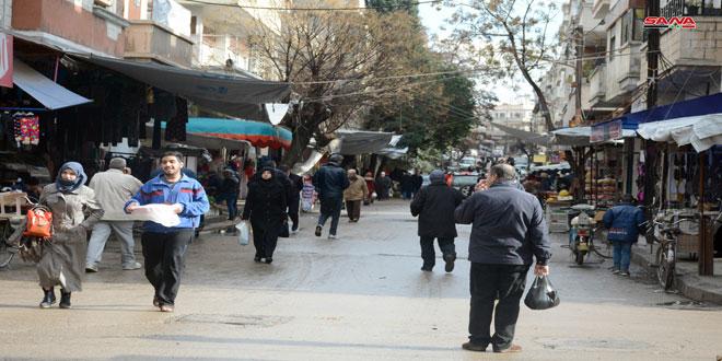 حمص.. تنظيم 176 ضبطاُ تموينياً خلال أسبوع