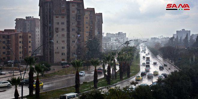 منخفض جوي بارد مع هطولات مطرية غزيرة وتحذير من تشكل السيول
