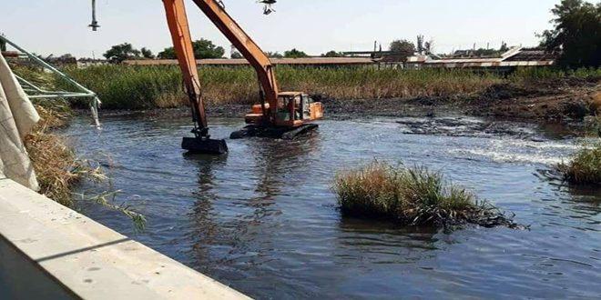 الموارد المائية بحمص تنفذ مشاريع حيوية لدعم استقرار المزارعين وزيادة الإنتاج
