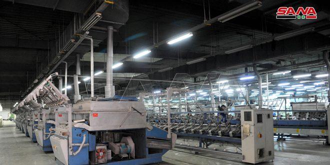 50 بالمئة من المنشآت الصناعية عادت للإنتاج في منطقة تل كردي الصناعية