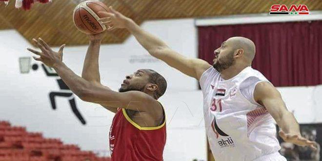 الوثبة يفوز على الرياضي اللبناني ببطولة دبي الدولية لكرة السلة