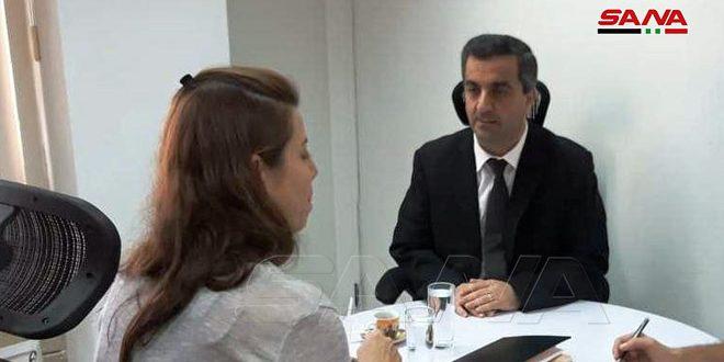 رئيسة شبكة تيليسور: واثقون بانتصار سورية في حربها ضد الإرهاب