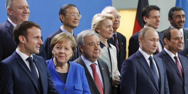 بدء أعمال المؤتمر الدولي حول ليبيا في العاصمة الألمانية
