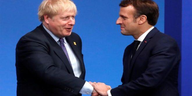 جونسون وماكرون يؤكدان التزامهما بالاتفاق النووي مع إيران
