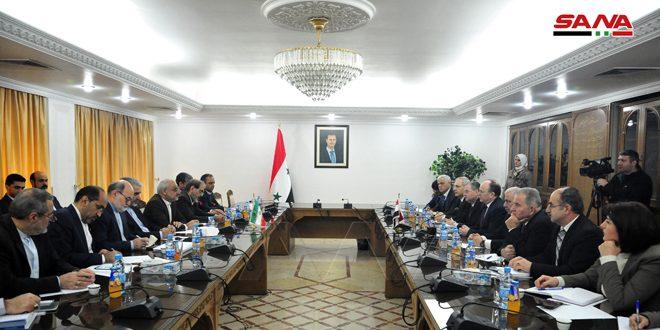 مباحثات سورية إيرانية للتعاون في مجال التعليم العالي والبحث العلمي