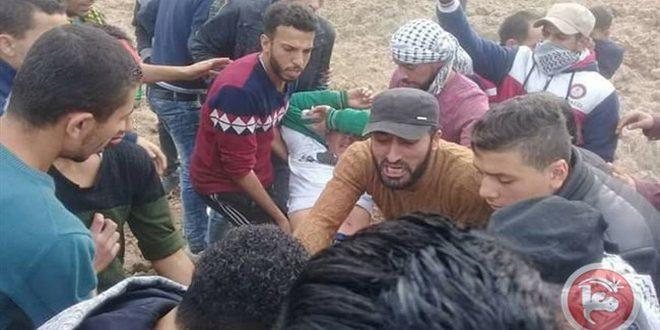 إصابة عشرات الفلسطينيين برصاص الاحتلال شمال قطاع غزة