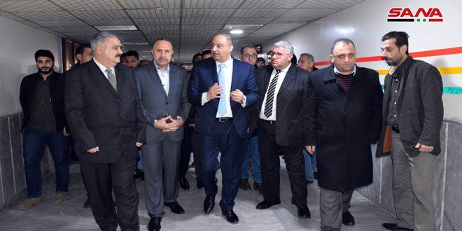وزير الإعلام يطمئن على وضع الزميلة وفاء شبروني إثر تعرضها للإصابة أثناء تغطيتها العمليات العسكرية بريف إدلب الجنوبي