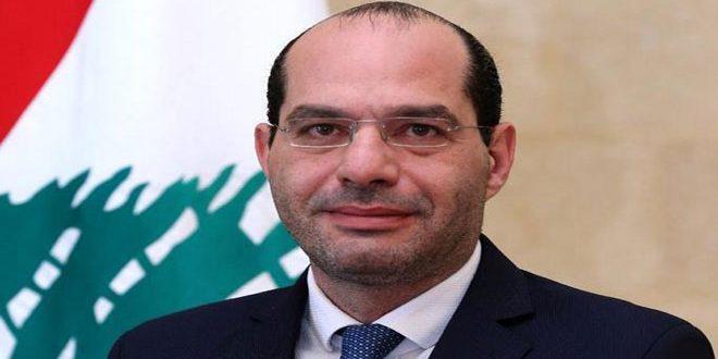 مراد: العلاقة المميزة بين سورية ولبنان مصلحة لبنانية