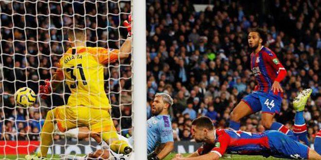 مانشستر سيتي يتعادل مع كريستال بالاس في الدوري الإنكليزي الممتاز
