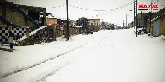 حالة الطرق العامة نتيجة الأحوال الجوية السائدة مساء اليوم