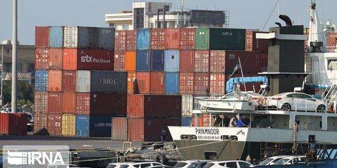 حجم التجارة الخارجية الإيرانية يتجاوز 72 مليار دولار في عشرة أشهر