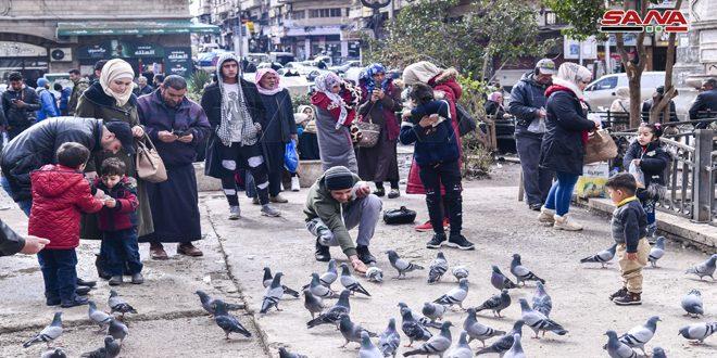 دمشق اليوم (صور)