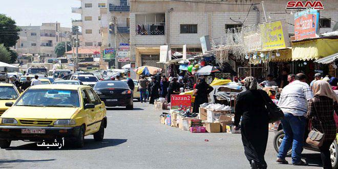 درعا.. تنظيم 111 ضبطاً تموينياً منذ بداية الشهر الجاري