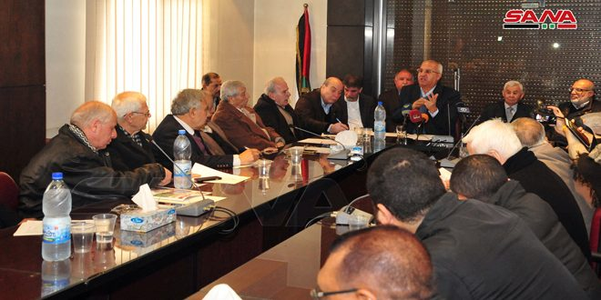 المشاركون بملتقى بالمجلس الوطني الفلسطيني: (صفقة القرن) عدوان أميركي