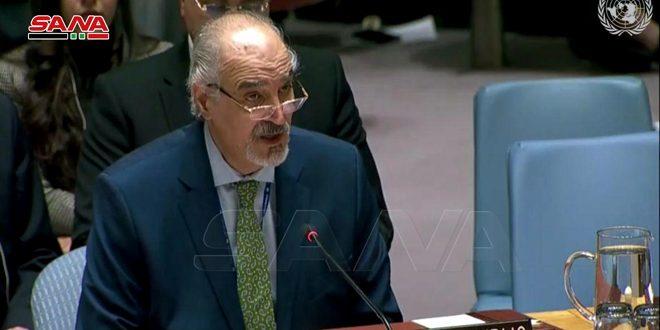 الجعفري: وجوب رفع الإجراءات الاقتصادية القسرية أحادية الجانب التي تسببت بمعاناة الشعب السوري