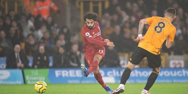 ليفربول يفوز بصعوبة على ولفرهامبتون بالدوري الانكليزي
