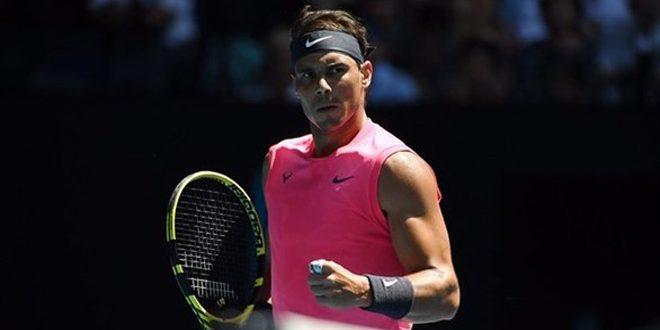 نادال يجتاز ديليين ببداية مشواره في بطولة أستراليا المفتوحة