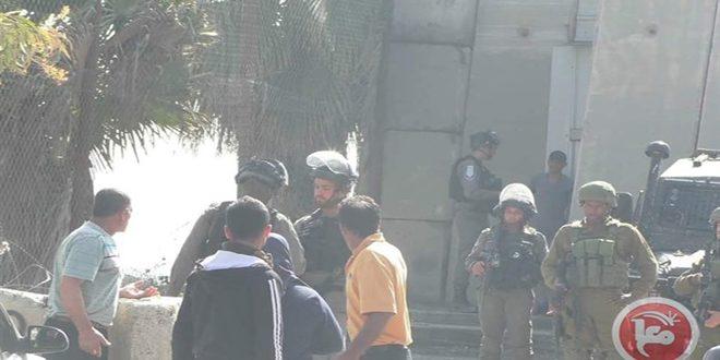 إصابة عدد من الفلسطينيين خلال اقتحام الاحتلال شمال الخليل