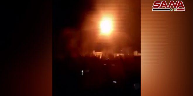 الجيش يضرب بقوة أوكار الإرهابيين وتحصيناتهم غرب مدينة حلب