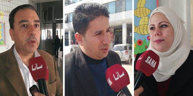 أفراح بالمحافظات احتفاء بانتصار حلب: سورية لن تتخلى عن شبر من أراضيها