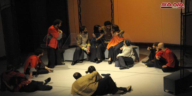 الزير سالم..عرض تخرج قسم التمثيل بالمعهد العالي للفنون المسرحية