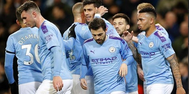 مانشستر سيتي يفوز على ويستهام يونايتد بالدوري الإنكليزي لكرة القدم