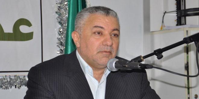 محمد نصر الله: من حق سورية تطهير أراضيها من الإرهابيين