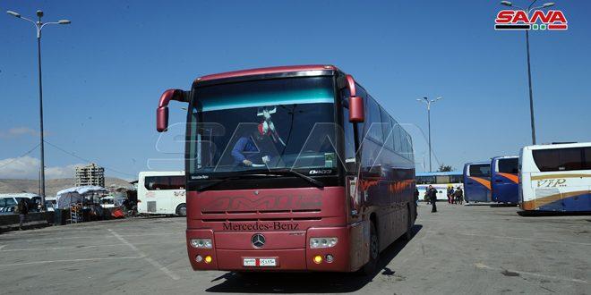 شركات نقل تسير رحلاتها تدريجياً عبر طريق دمشق-حلب الدولي مختصرة الزمن والمسافة