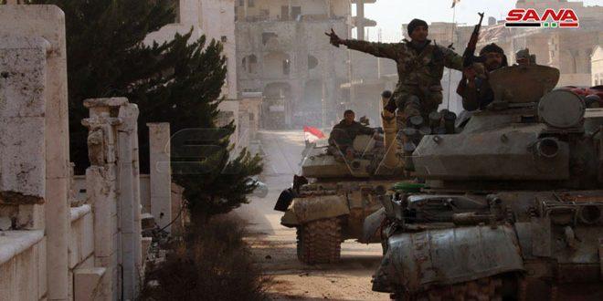 شخصيات إيرانية: انتصارات الجيش السوري في حلب انتصار لكل المنطقة