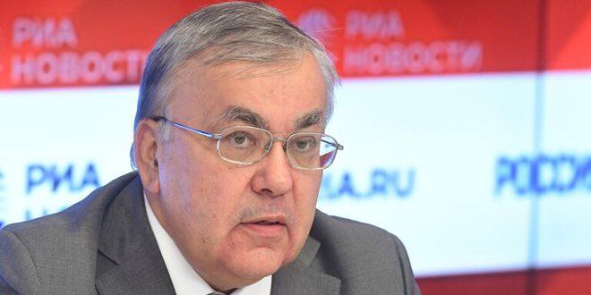 فيرشينين: روسيا ستواصل دعم سورية في حربها على الإرهاب