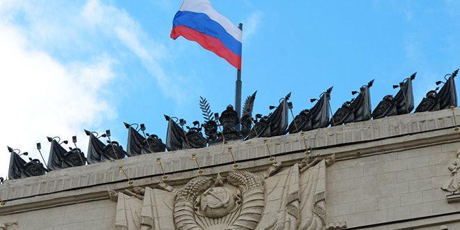 الدفاع الروسية تدعو النظام التركي إلى وقف دعم الإرهابيين في سورية وتزويدهم بالأسلحة