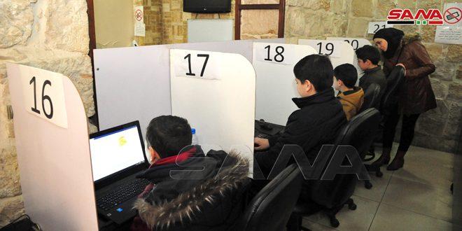 إعلان نتائج اختبار تحديد المستوى الأول لفئة الأطفال المشاركين في الماراثون البرمجي