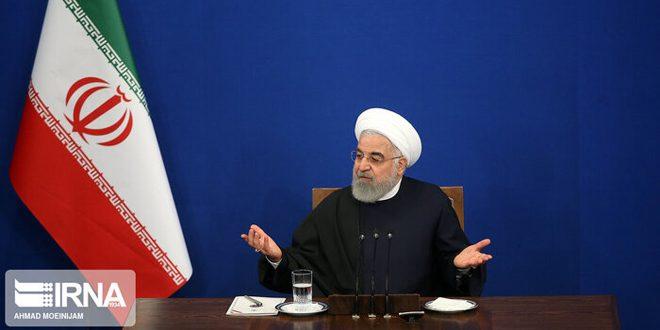 روحاني يؤكد ضرورة احترام النظام التركي سيادة سورية ووحدة أراضيها والتزامه باتفاقات سوتشي ومسار أستانا