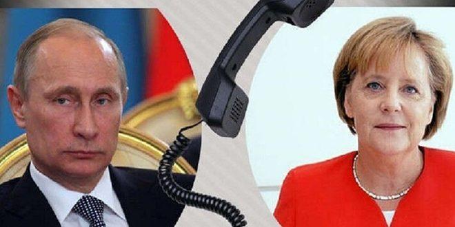 بوتين يؤكد ضرورة مواجهة التهديد الإرهابي والحفاظ على وحدة سورية