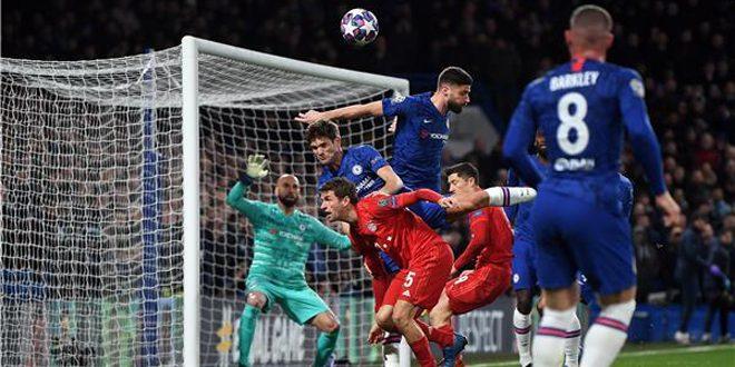 فوز بايرن ميونخ وتعادل برشلونة بدوري أبطال أوروبا