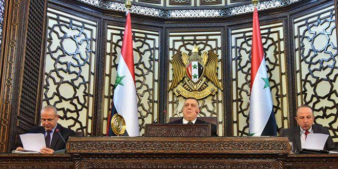 مجلس الشعب يتبنى بالإجماع قراراً يدين ويقر جريمة الإبادة الجماعية المرتكبة بحق الأرمن على يد الدولة العثمانية - S A N A