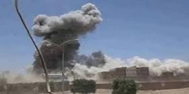 إصابة طفل يمني وتضرر مبان سكنية إثر قصف جديد للعدوان السعودي