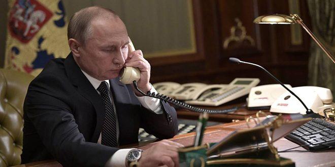 بوتين يؤكد على ضرورة الاحترام غير المشروط لسيادة سورية وسلامة أراضيها