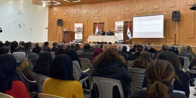 وزير الأوقاف خلال محاضرة في جامعة أنطاكية: العمل لتصحيح المفاهيم الدينية التي شوهها التطرف والإرهاب