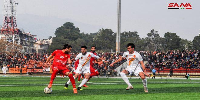 الوثبة يفوز على الاتحاد بثلاثية والجيش على الوحدة بهدف في افتتاح إياب دوري كرة القدم