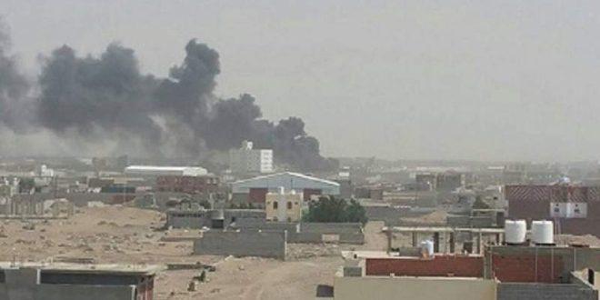 استشهاد يمنية بنيران مرتزقة العدوان السعودي في تعز – S A N A