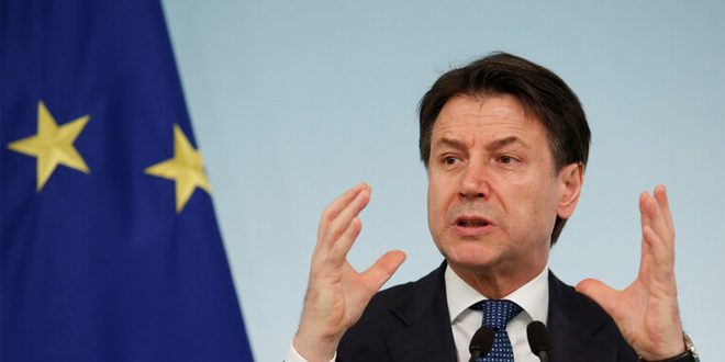 رئيس وزراء إيطاليا ينتقد التعامل الأوروبي مع وباء كورونا