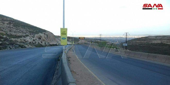 التزام تام بحظر التجول بين محافظة دمشق وريف دمشق