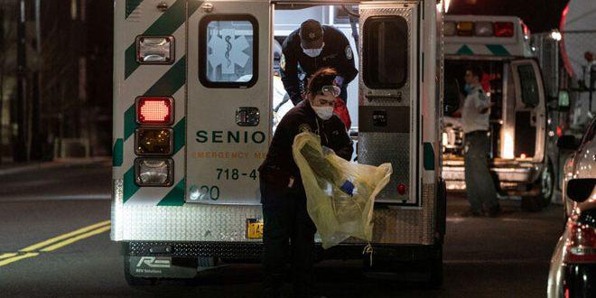 594 وفاة جديدة بفيروس كورونا في نيويورك خلال 24 ساعة