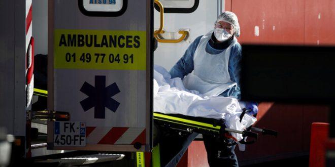 357 حالة وفاة جديدة بفيروس كورونا في المستشفيات الفرنسية