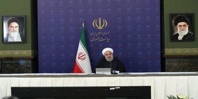 روحاني: صندوق النقد الدولي يتبنى سياسة أحادية الجانب تجاه إيران