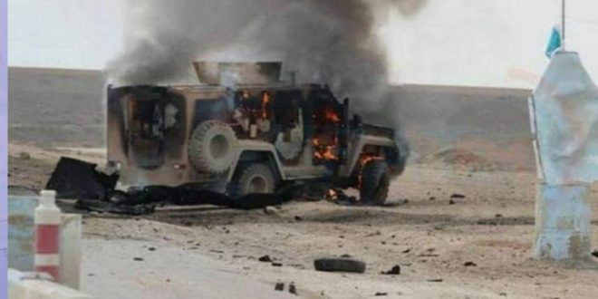 مقتل ضابط أمريكي واثنين من عناصر (قسد) بكمين نفذه مجهولون في بلدة الصور بريف دير الزور