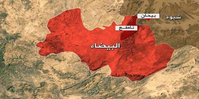 مقتل وإصابة عدد من مرتزقة العدوان السعودي بمحافظة البيضاء اليمنية